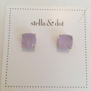 Stella and Dot Lux Studs-Blue